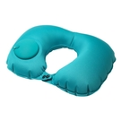 按壓自動充氣U型護頸枕旅行午休趴睡靠墊廠家直銷可定制顏色logo