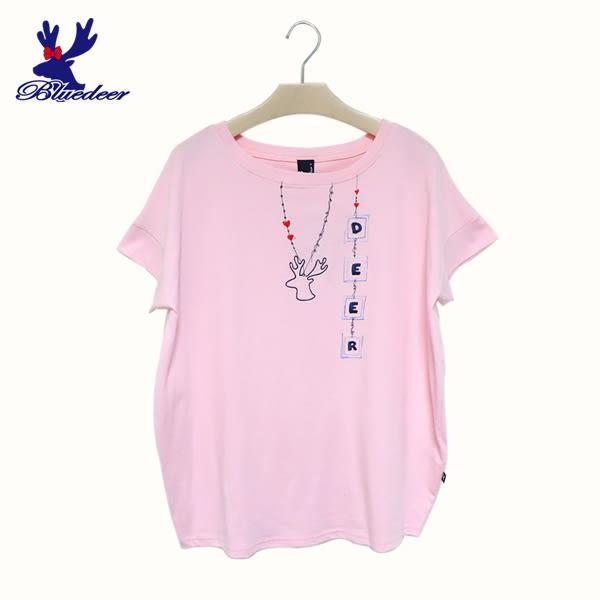 American Bluedeer-項鍊刺繡上衣(魅力價) 春夏新款