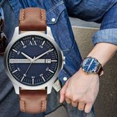 A/X Armani Exchange 亞曼尼 AX2133 時尚格紋紳士腕錶 熱賣中!
