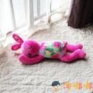 兔子抱枕可愛玩偶兒童毛絨玩具睡覺柔軟生日布娃娃【淘嘟嘟】