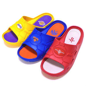 【錢豪童裝童鞋】NBA球隊大人拖鞋