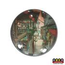 【收藏天地】台灣紀念品*水晶玻璃球冰箱貼-九份老街