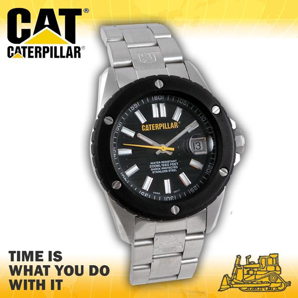 CASIO 卡西歐手錶專賣店 CATCaterpillar SI.241.11.121 女錶 美式休閒風 指針型 中性錶 不繡鋼錶帶