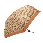 COACH 經典滿版C LOGO晴雨傘(咖啡色)193717-1