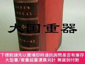 二手書博民逛書店Tom罕見Hood s Comic Annual for 1874,77,78,79,80,82 in one v