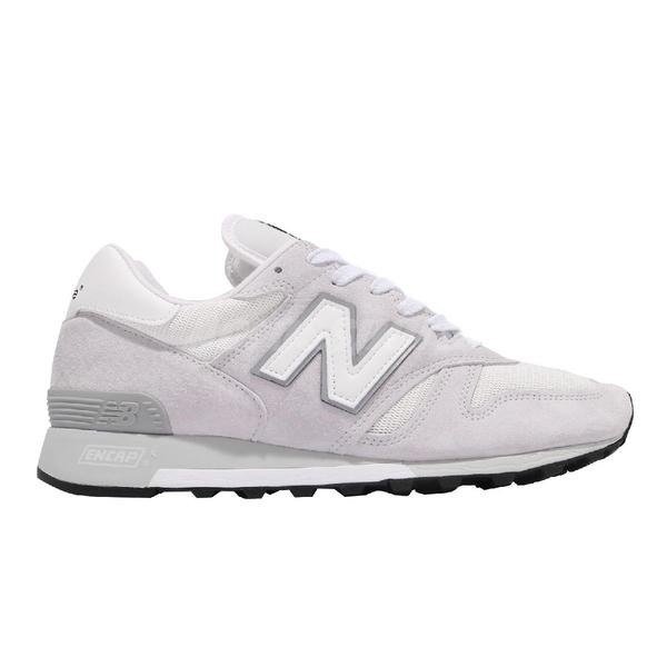 New Balance 休閒鞋 1300 美製 白 灰 麂皮 千系列 男鞋 紐巴倫 NB 經典款【ACS】 M1300CLWD