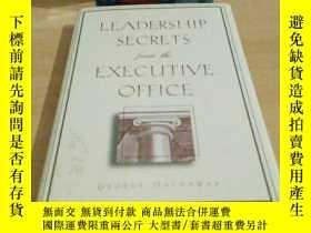 二手書博民逛書店《LEADERSHIP罕見SECRETS from the EX