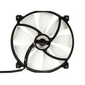 Phanteks 追風者PH-F200SP_BK 800RPM 黑白版20公分機箱散熱風扇(高風量/低噪音)