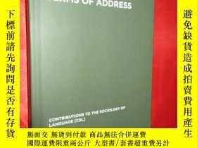 二手書博民逛書店Terms罕見of Address: Problems of P
