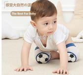 護膝 兒童運動護膝籃球滑冰爬行防摔學步寶寶襪套足球可調節護 珍妮寶貝
