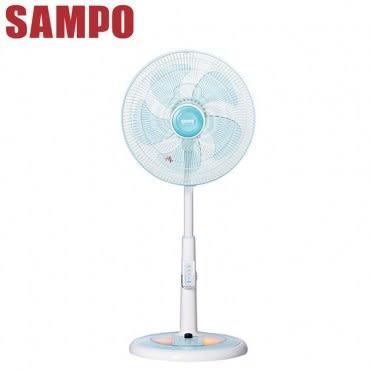 SAMPO聲寶14吋微電腦夜燈遙控定時電風扇 SK-FU14R