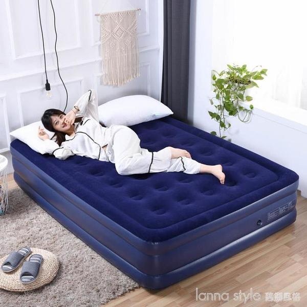 充氣床雙人家用單人雙層床墊折疊旅行加厚戶外便攜氣墊床 全館新品85折