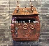 [協貿國際]美式鄉村復古創意信箱壁飾復古色1入