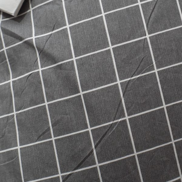 白大理石   A1雙人薄被套乙件  100%精梳棉  台灣 棉床本舖