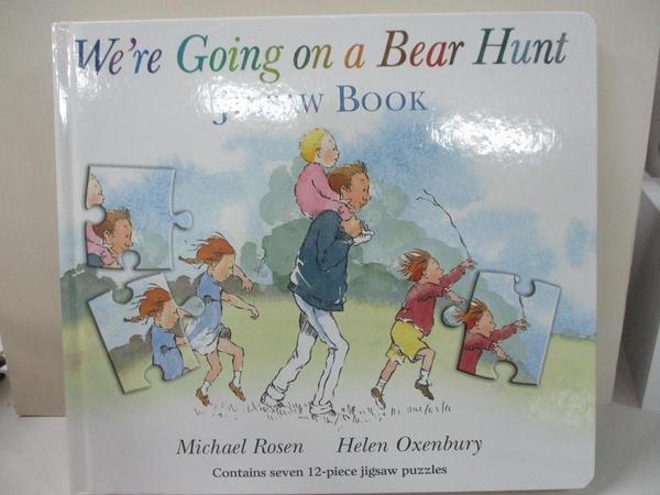 【書寶二手書T1/少年童書_KCW】We're Going on a Bear Hunt_Michael Rosen