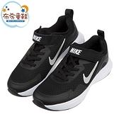 《布布童鞋》NIKE_WEARALLDAY黑色兒童運動慢跑鞋(17~22公分) [ P1K817D ]