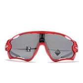 OAKLEY 太陽眼鏡 JAWBREAKER ORIGINS COLLECTION 紅黑 亞洲版 PRIZM色控科技 極致輕 (布魯克林) OAKOO92905731
