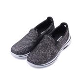 SKECHERS GOWALK 5套式休閒鞋 黑白 15906BKW 女鞋