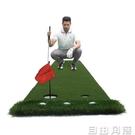 【八折】BC高爾夫推桿練習器 方便攜帶鋪開可用 室內外練習果嶺毯防真草高爾夫毯 打擊墊