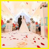 每週新品仿真玫瑰花瓣結婚表白裝飾情人節求婚男女制造浪漫布置假花瓣雨