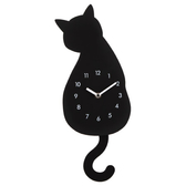 黑貓掛鐘 BLACK CAT NITORI宜得利家居