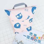 韓國進口尿布袋外出便攜式防水多功能包紙尿褲尿片尿不濕收納袋包