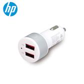 HP 雙USB4.8A快速車充 白色 (HP047GBSLV0TW)