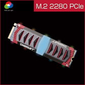 DIGIFAST M.2 NVMe RGB SSD - Chevron 1TB 高速固態硬碟