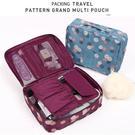 化妝包 洗漱包 盥洗包 多格 分層 掛鉤 旅行 收納袋 加寬 加厚 行李分類 聖誕禮物