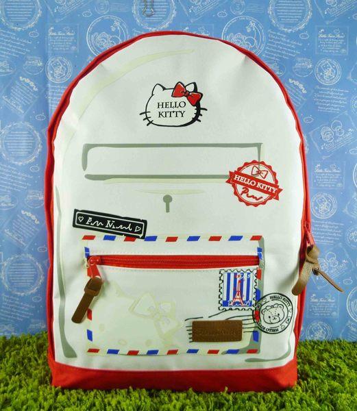 【震撼精品百貨】Hello Kitty 凱蒂貓~後背包~明信片【共1款】