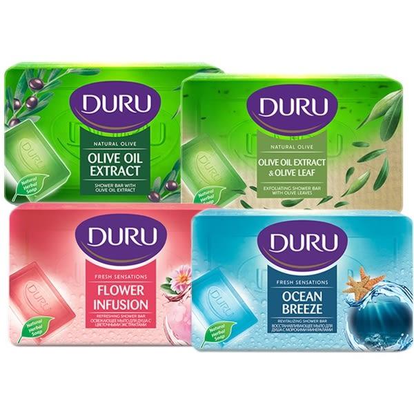 土耳其 Duru 頂級橄欖油保濕呵護皂/嫩膚皂/花蜜馨香/海洋微風SPA皂(150g) 款式可選【小三美日】