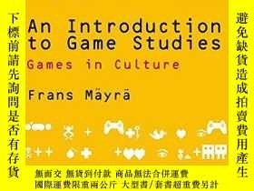 二手書博民逛書店An罕見Introduction To Game StudiesY256260 Frans Mayra Sag