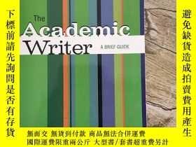 二手書博民逛書店The罕見Academic Writer A Brief Gui