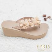 現貨 MIT小中大尺碼蜜月鞋推薦 山楂花蜜月鞋 22.5-25 EPRIS艾佩絲-高貴金