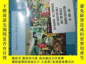 二手書博民逛書店Organized罕見Interests and American GovernmentY146830 Dav