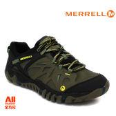 【Merrell】男款戶外鞋 ALL OUT BLAZE AERO SPORT 水陸兩棲系列 -黑草綠(37687)【全方位運動戶外館】