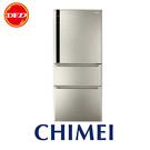 CHIMEI 奇美 UR-P61VC1 三門變頻節能電冰箱 610L 典雅金 壓縮機5年保固 ※運費另計(需加購)