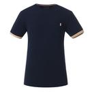 La proie 男式短袖T恤-深海藍...