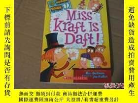 二手書博民逛書店My罕見WeiRdeR SchooL 7 Miss Kraft