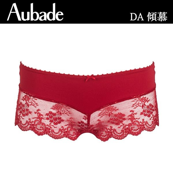 Aubade-傾慕B-E蕾絲薄襯內衣(紅)DA