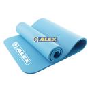 ALEX 韻律瑜珈墊/運動地墊(182 x 61 x 1cm厚度) 藍