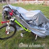 車罩 山地自行車防塵罩 機車防雨罩機車車罩遮陽套防塵罩防水 艾莎