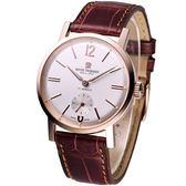 Revue Thommen 復刻典雅 紳士手上鍊機械腕錶17082.3562