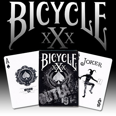 【USPCC 撲克】Bicycle Outlaw XXX Deck 撲克牌