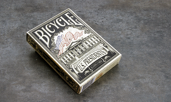 【USPCC 撲克】Bicycle us presidents emboss 黑