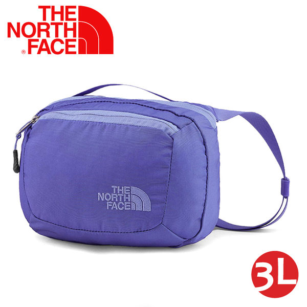 【The North Face 3L 多功能腰包《星空藍/紫藍》】CJ4X/側背包/隨行包/臀包/透氣/運動/跑步