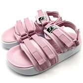 《7+1童鞋》中童 PUMA Leadcat YLM 19 PS 輕量 透氣 運動涼鞋 8257 粉色