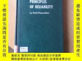 二手書博民逛書店Principles罕見of reliability 可靠性原理