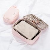 化妝包小號便攜韓國簡約大容量多功能少女袋品隨身收納包Mandyc