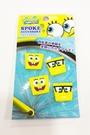【震撼精品百貨】SpongeBob SquarePant海棉寶寶~腳踏車飾品(4入)#00976